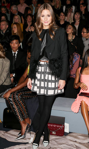 Olivia Palermo and Jada Pinkett Smith go front row at Vera Wang