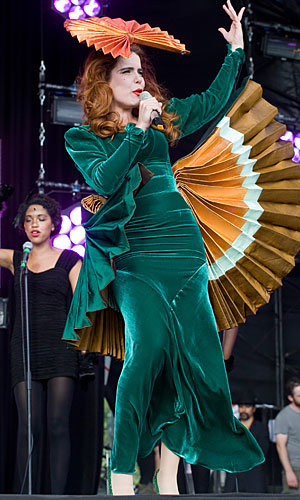 Florence Welch and Paloma Faith take Latitude by storm