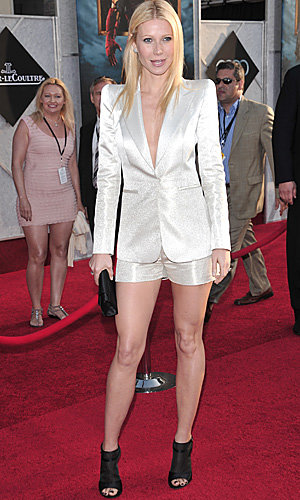 PICS: Scarlett Johansson and Gwyneth Paltrow both wow in white at Iron Man 2 premiere