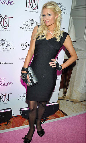 SEE PICS! Paris Hilton parties at the launch of her new fragrance and shoe collection!