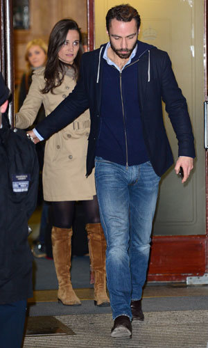 Pippa Middleton and Prince William visit Kate Middleton in hospital