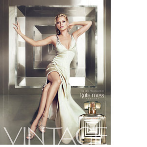 Kate Moss launches new Vintage fragrance