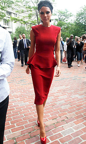 SEE PICS: Victoria Beckham back for more American Idol!