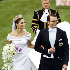 SEE PICS: The wedding of Crown Princess Victoria of Sweden