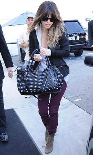 CELEB STYLE: How to wear coloured jeans