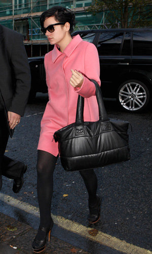 STYLE SNAP: Lily Allen and Reese Witherspoon are pretty in Prada pink