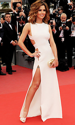 Cheryl Cole WOWS in Cannes!