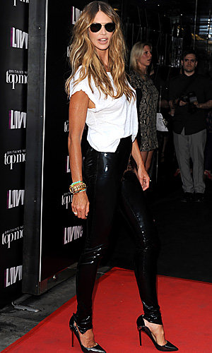 Elle Macpherson launches the search for Britain's Next Top Model