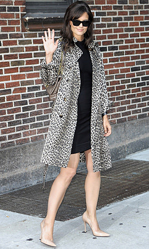 Katie Holmes gets a Sixties makeover