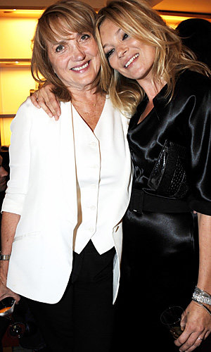 SEE PICS: Kate Moss closes London Fashion Week in style