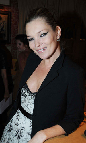 Kate Moss steps out at Help For Heroes party