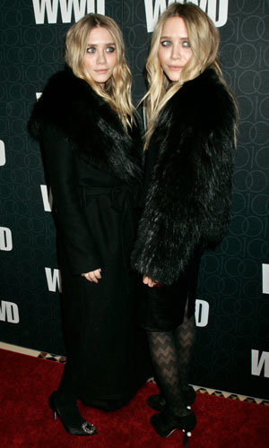 The Olsen twins and more stars hit the WWD 100 Anniversary Gala
