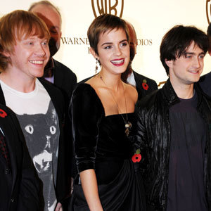 Harry Potter stars get glam for pre-premiere Deathly Hallows party
