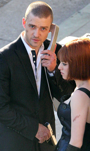 SNEAK PEEK: Justin Timberlake and Amanda Seyfried on set of new film