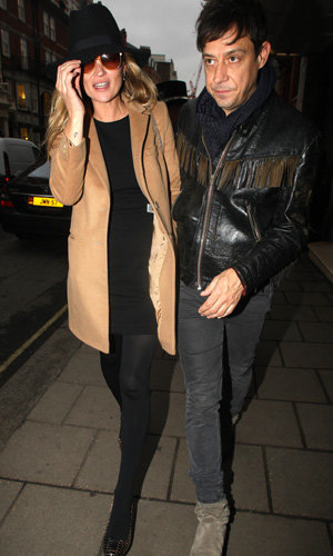 Kate Moss goes on a super-stylish lunch date with Jamie Hince