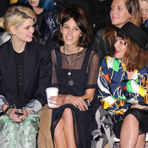 The Brit pack go front row at House of Holland