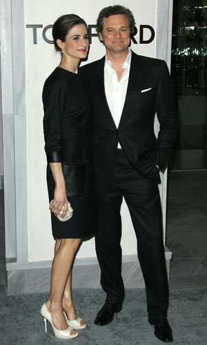 Colin Firth and Ginnifer Goodwin celebrate Tom Ford's LA store opening