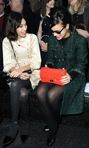 Chanel's sizzling AW12 show draws a star-studded crowd