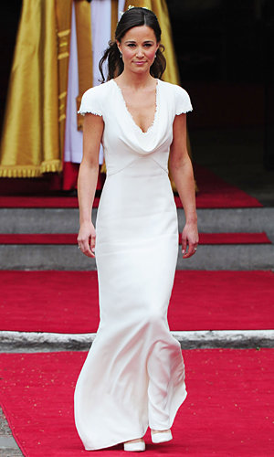 STYLE STEAL: Debenhams launch a version of Pippa Middleton's iconic bridemaid's dress!