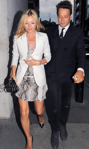 Another glamorous evening out for Kate Moss and Jamie Hince