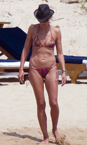 SPOTTED: Heidi Klum sizzles in the sun in Sardinia