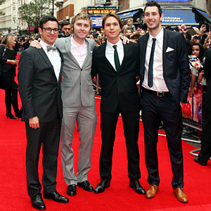 The cast of The Inbetweeners hit London for film premiere!