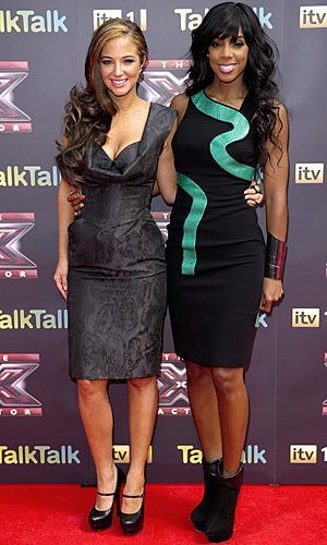 WOW! Kelly Rowland and Tulisa Contostavlos go ultra-glam at X Factor UK launch
