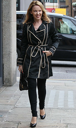 STYLE SNAP! Kylie Minogue and Pippa Middleton in the same coat!