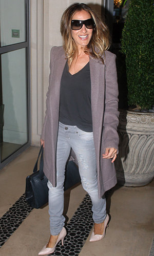 Sarah Jessica Parker's super-stylish London day!