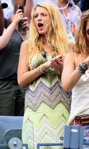 Blake Lively and Amanda Seyfried hit the US Open!