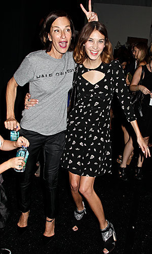NYFW sees Alexa Chung, Lea Michele and Ed Westwick go front row!