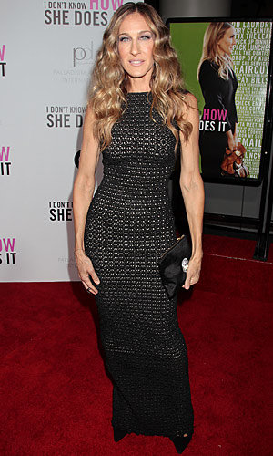 Sarah Jessica Parker wows in Antonio Berardi at I Don't Know How She Does It premiere