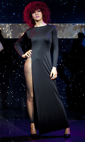 Rihanna gets her own waxwork at Madame Tussauds!