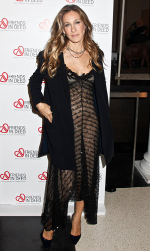 Sarah Jessica Parker nails the midi trend at Friends in Deed Benefit