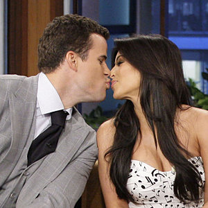 Kim Kardashian and Kris Humphries on The Tonight Show