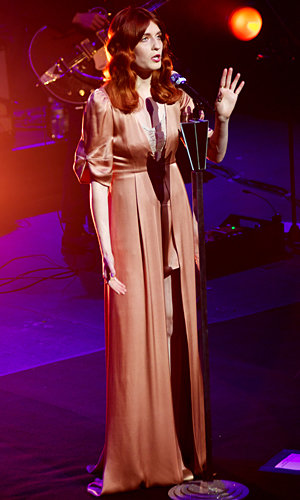 Florence Welch wows on-stage at Hackney Empire gig!