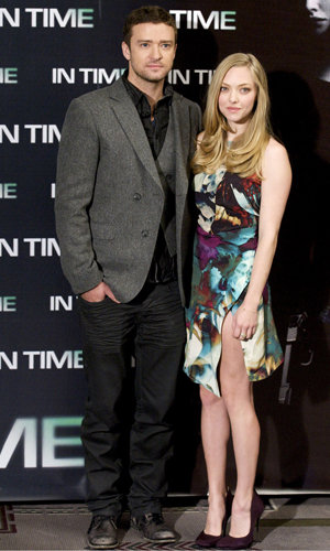 Amanda Seyfried and Justin Timberlake hit Madrid!