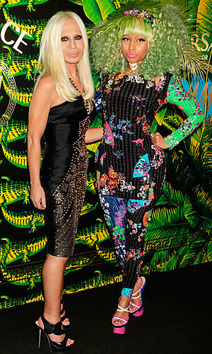 Hollywood celebrates Versace for H&M collection!