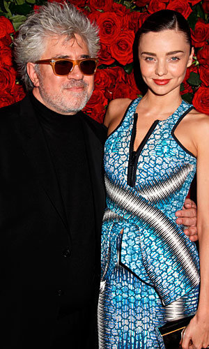 Hollywood's top stars honour film director Pedro Almodovar