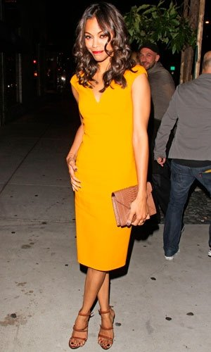 Zoe Saldana, Minka Kelly and Cat Deeley love Michael Kors