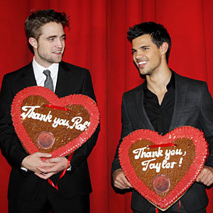 Robert Pattinson and Taylor Lautner feel the love in Berlin at Twilight premiere
