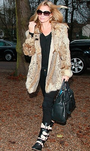 STYLE CRUSH! Kate Moss works two fab looks in one day
