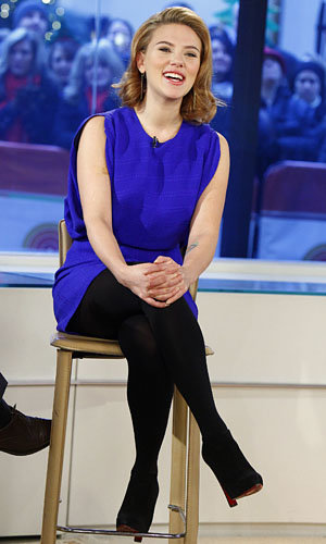 Scarlett Johansson takes on US TV in style