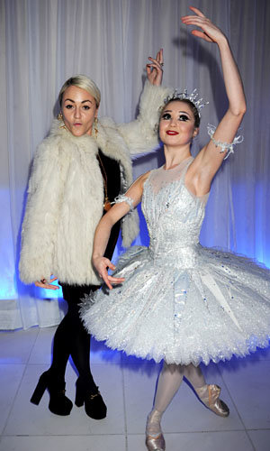 London's hottest stars hit the English National Ballet Christmas party!