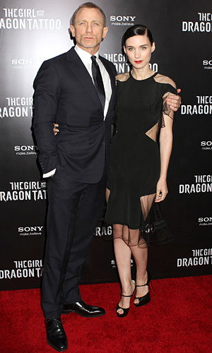 SEE PICS: The Girl With The Dragon Tattoo premiere in New York!