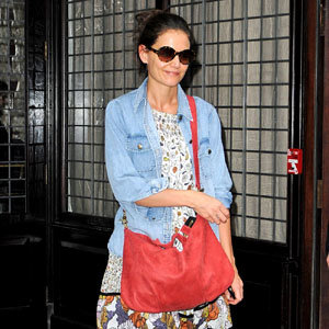 Katie Holmes' new bag crush!