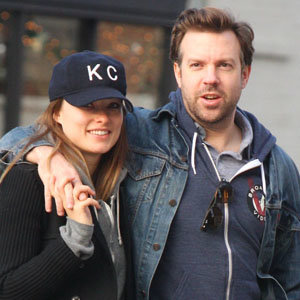 CUTE CELEB COUPLE: Olivia Wilde and Jason Sudeikis