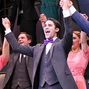 Darren Criss takes over from Daniel Radcliffe on Broadway
