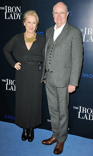 Meryl Streep hits London for The Iron Lady premiere