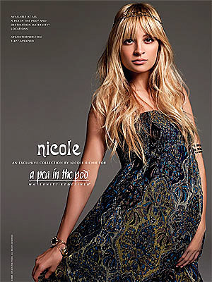 Nicole Richie launches maternity line